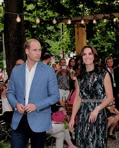 The Duke and Duchess attended a reception in Clärchens Ballhaus this evening. Opened in 1913, Clärchens is one of the last remaining old ballrooms in Berlin, and played host to a reception for some of the most creative, innovative, and exciting new names in the world of art, culture, style, fashion and technology in the city. The Duke & Duchess met people from the world of German and British culture including Sam Riley and Game Of Thrones star Thomas Wlaschiha.