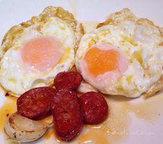 Sábado de #huevos fritos con #chorizo  #pavernosmatao...