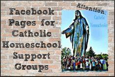 Looking for support, resources? Catholic Homeschool Support Groups on Facebook