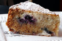 The Kitchen Whisperer Blueberry Cream Cheese Coffee Cake - perfect brunch cake!