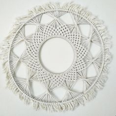 Items similar to Circle Macrame Wall Hangings on Etsy Macrame Plant, Macrame Mirror, Card Weaving, Weaving Yarn, Diy Macramé Suspension, Etsy Macrame, Art Macramé, Modern Macrame, Macrame Design