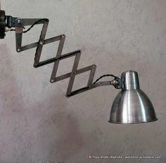 Applique murale jield lampe jield ancienne et authentique con ue en 1950 - Lampes industrielles anciennes ...