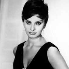 Sophia Loren - my beauty idol....I used to pretend she was my mom!! Seriously!