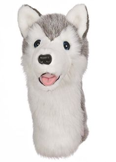 Oversized Wolf Husky Golf Head Cover >>> You can find more details by visiting the image link. Note:It is Affiliate Link to Amazon.