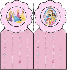 Disney Princess: Free Party Printables