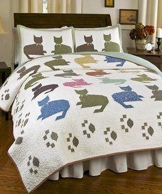 Meow Quilt Set #zulily #zulilyfinds