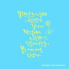 밀알글씨 calligraphy -seedddreaming.com -instagram: @adreamofseed