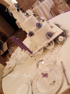 Allestimento Wedding Cake#Fitting wedding cake# Cake Designer:Lara Costantini