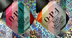 OPI Summer 2018 Grease Collection Swatches and Review Opi Nail Polish Colors, Opi Nails, Nail Colors, Nail Nail, Opi Collections, Opi Pink, Alpaca My Bags, Red Jelly, Mirror Nails