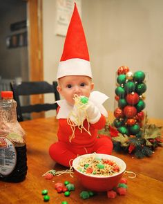 New No Cost Dad-Of-Six turns his baby into a delightful elf on the shelf - Utah& . Thoughts Dad-Of-Six turns his baby into a delightful elf on the shelf – Utah& six-member father Alan Newborn Christmas, Babies First Christmas, A Christmas Story, Family Christmas, Christmas Humor, Christmas Ideas, Scandi Christmas, Merry Christmas, Elf On The Shelf