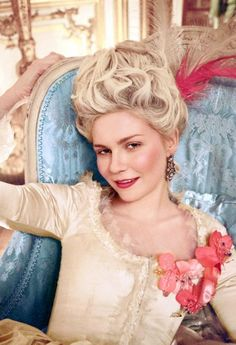 Note: Hair is curled, doesn't suit Character.  Kirsten Dunst's in Marie Antoinette