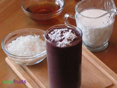 Açaí and Coconut Smoothie