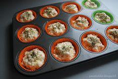 Täykkäri: Suolaiset muffinssit Sushi, Muffin, Breakfast, Ethnic Recipes, Food, Morning Coffee, Essen, Muffins, Meals