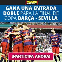 Sorteo de 1 entrada doble para la final de Copa del Rey entre Barcelona vs Sevilla de MundoDeportivo #sorteo #concurso http://sorteosconcursos.es/2016/05/sorteo-de-1-entrada-doble-para-la-final-de-copa-del-rey-entre-barcelona-vs-sevilla/