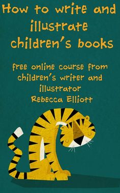 Retro Doodler Rebecca Elliott: How to write and illustrate a picture book part 1 (of 6) | #writing