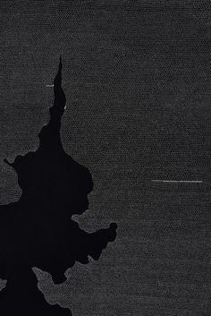 Detalle de Interruption II, 2014. Tinta de archivo sobre papel wasli. 103x76 cm. Única. Cortesía de Sabrina Amrani Gallery y el artista.