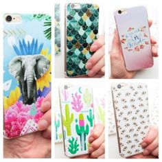 "6 and 6S TRENDY CELL PHONE CASES! ⭐️ADORBS IPHONE CASES! These will fit both an iPhone 6 AND 6 S. Price is for EACH. JUST CHOOSE WHICH STYLE YOU WANT FROM ""SIZING"" below. Elephant, Cactus, Mermaid(Sold),  Pina Colada, and Hedgehog ! Woo HOO! Price firm unless bundled.⭐️ Twilight Gypsy Collective Accessories Phone Cases"