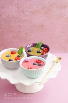 Raspberry smoothie bowl by coelfen  IFTTT 500px