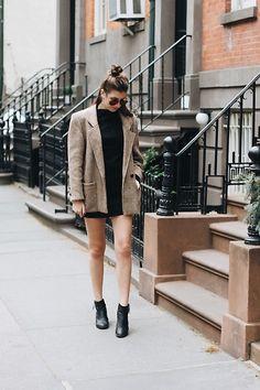 Get this look: http://lb.nu/look/8707319  More looks by Elly Leavitt: http://lb.nu/ellyleavitt  Items in this look:  Tobi Little Black Dress, Vintage Tweed Blazer, H&M Black Ankle Boots   #classic #street #vintage #lbd #blackdress #littleblackdress #tweed #80s #1980s