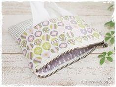 ポケットティッシュ入れ付きポーチの作り方|ソーイング|編み物・手芸・ソーイング|ハンドメイドカテゴリ|ハンドメイド、手作り作品の作り方ならアトリエ