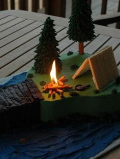 Top Camping Cakes