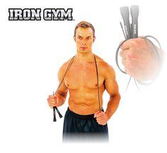IRON GYM® Wire Speed Rope is de beste manier om voetenwerk, snelheid, evenwicht en lenigheid te verbeteren. Een extreme training met soepele en snelle rotatie biedt gewichtsverlies, spierversteviging en verhoogde cardiovasculaire conditie. Train altijd en overal!