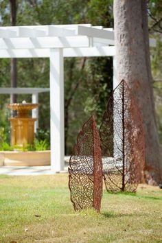 leaf skeleton Sculpture Design, Garden Feature Design, Designers, Custom, Features, Melbourne