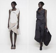 Issey Miyake Origami Dresses