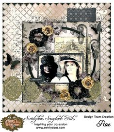 ~Swirlydoos Kit Club~ Treasured - Scrapbook.com