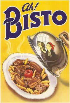 Advertising Boards, Bisto 1939,