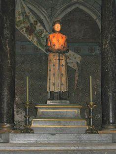 Cathédrale de Reims, Jeanne d'Arc