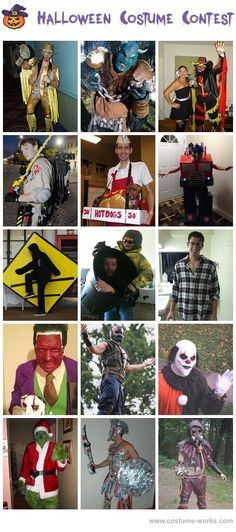 Homemade Costumes for Men - Halloween Costume Contest