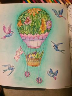 Johanna Basford   Colouring Gallery enchanted book by me