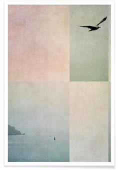 Fly Away als Premium Poster von Ingrid Beddoes | JUNIQE