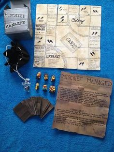Harry Potter -- Mischief Managed Game
