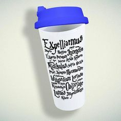 Magic Spell Harry Potter Double Wall Plastic Mug – giftmug Eco Friendly Cups, Plastic Mugs, Magic Spells, Gifts For Family, Wall Design, Spelling, Harry Potter, Magick Spells, Games