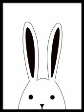 Rabbit Peekaboo, posters