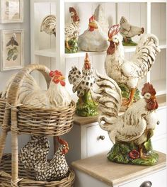 Display your chicken collection!