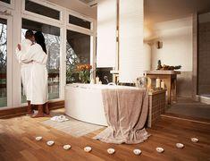 Reiseplaza: Wellnessurlaub in der Uckermark Das Hotel, Alcove, Bathtub, Bathroom, Family Vacations, Recovery, Standing Bath, Washroom, Bath Tub