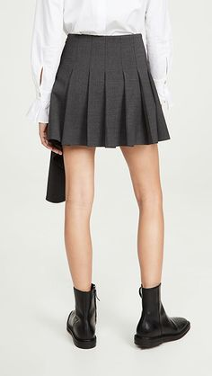 Monse Cascade Suiting Miniskirt | SHOPBOP | The Style Event, Up to 25% Off On Must-Have Pieces From Top Designers