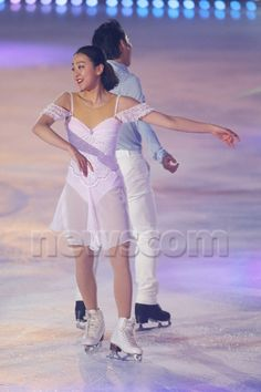 Mao Asada, December 21, 2014- Figure Skating : Christmas on Ice 2014 at Shin Yokohama Skate Center, Kanagawa, Japan. (Photo by Yusuke Nakanishi/AFLO SPORT)