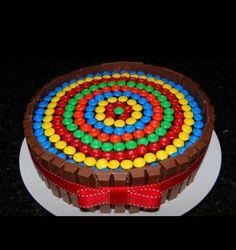 Gâteau mnms kitkat