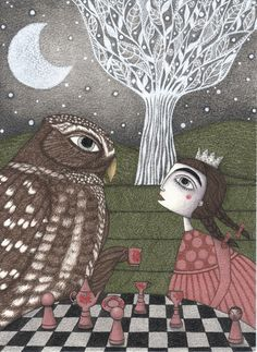 """""""Once Upon a Time"""" art by Judith Clay"""