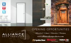 BC building & hw retailers! See the RED HOT new Madison moulded interior door by Lynden Door (image left) at the 2013 Westcoast Building & HW Show, Oct 4-5 Whistler, BC #allianceBSIAwhistler