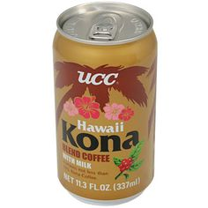 UCC Canned Kona Coffee w/ Milk 11.3 oz  Product Number - 16957 Bin Number - 2055 Nutritional Info Customer Reviews  UCC is one of the...