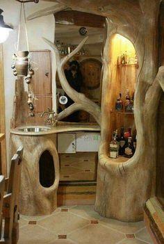 bathroom wood