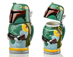 Star Wars Boba Fett Steins Hold Beer and Awesome