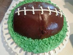 Deflate the gate football cake