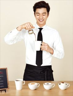 Gong Yoo is still the Coffee Prince: Kanu Coffee
