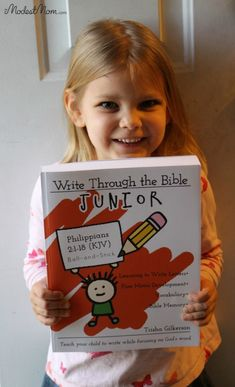 Write Through The Bible Junior Wordbook. Full year curriculum for 4-6 year olds
